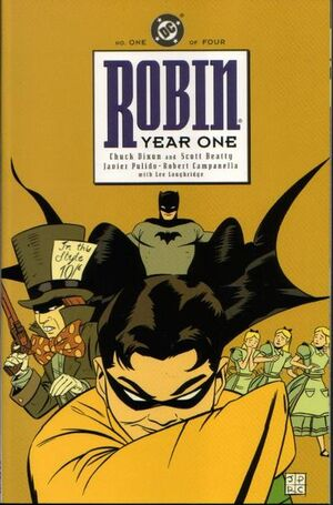 Cover for Robin: Year One #1 (2000)