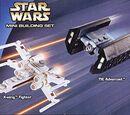 4484 Mini X-Wing Fighter & TIE Advanced