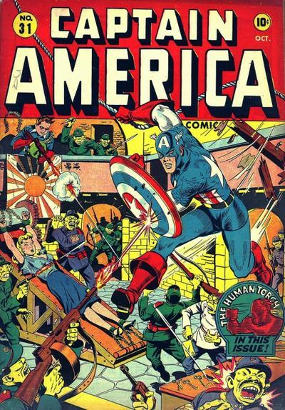 Captain America Comics Covers Captain America Comics Vol 1
