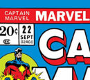 Captain Marvel Vol 1 22