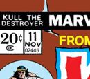 Kull the Destroyer Vol 1