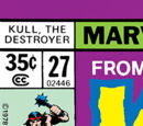 Kull the Destroyer Vol 1 27