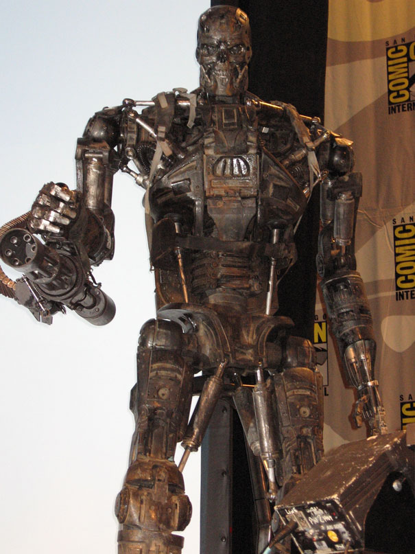 T 600 Terminator Salvation The revised T-600 for