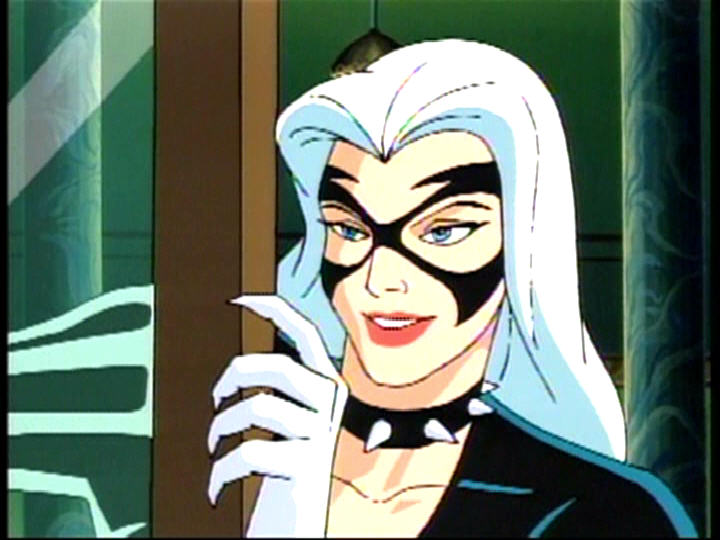 Gallery For > Black Cat Spiderman The Animated Series