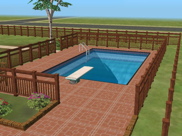Swimming pool the sims wiki for Pool design sims 4