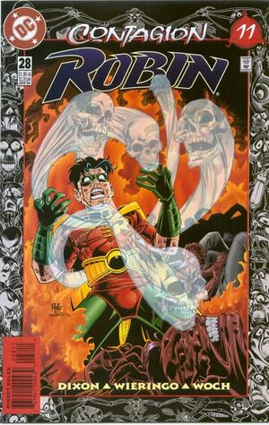 Cover for Robin #28 (1996)
