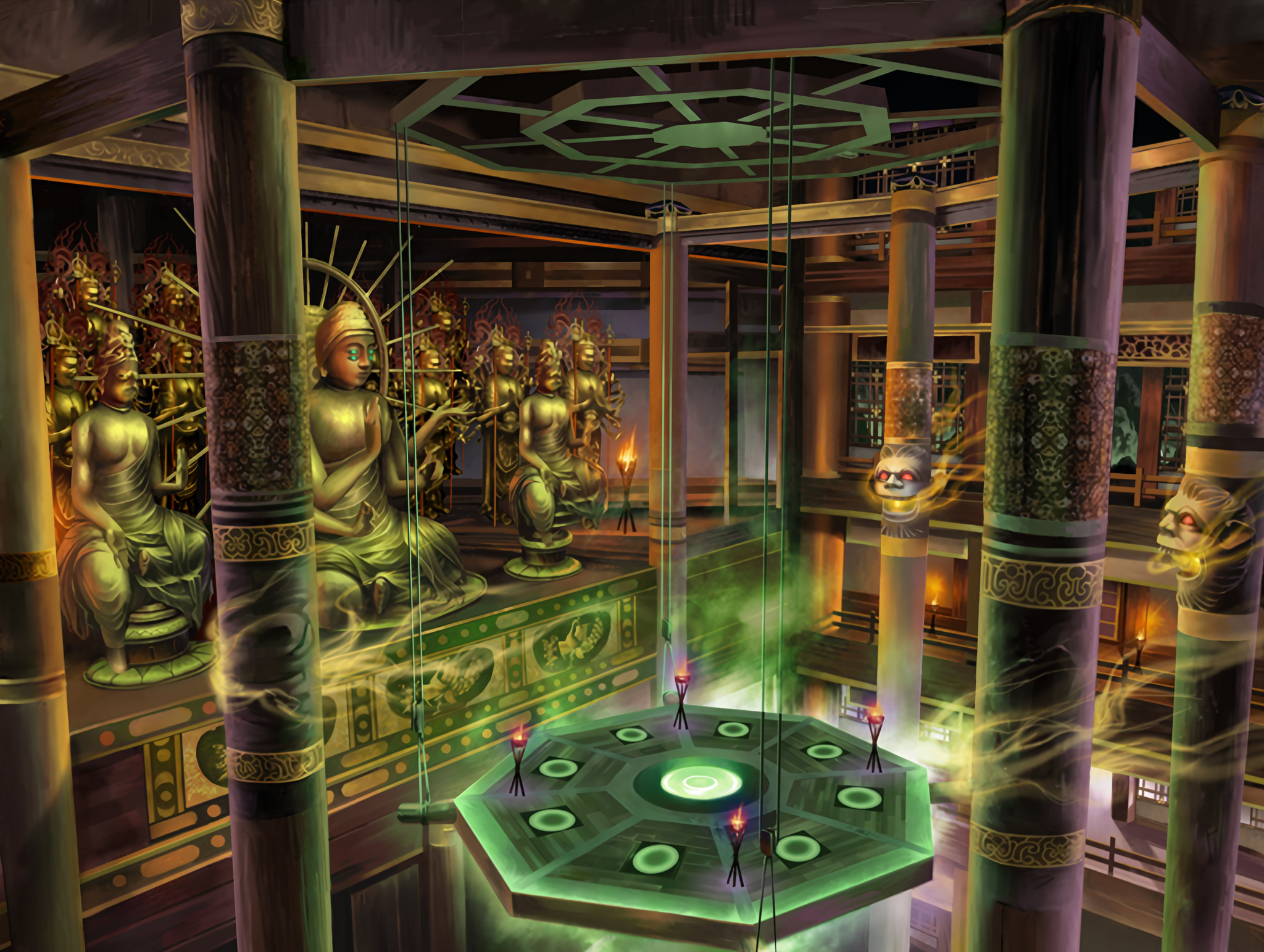 Underground buddhist sanctum the soulcalibur wiki for Classic underground house music