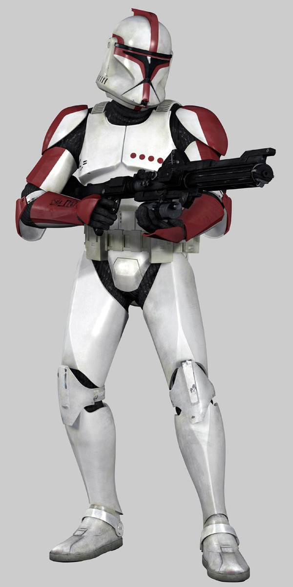 clone trooper captain of the Grand Army of the Republic in Phase I ...