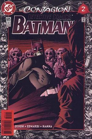 Cover for Detective Comics #695 (1996)