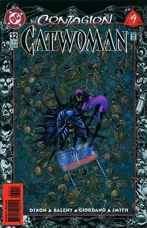 Cover for Catwoman #32 (1996)
