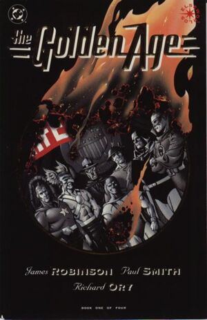 Cover for Golden Age #1 (1993)