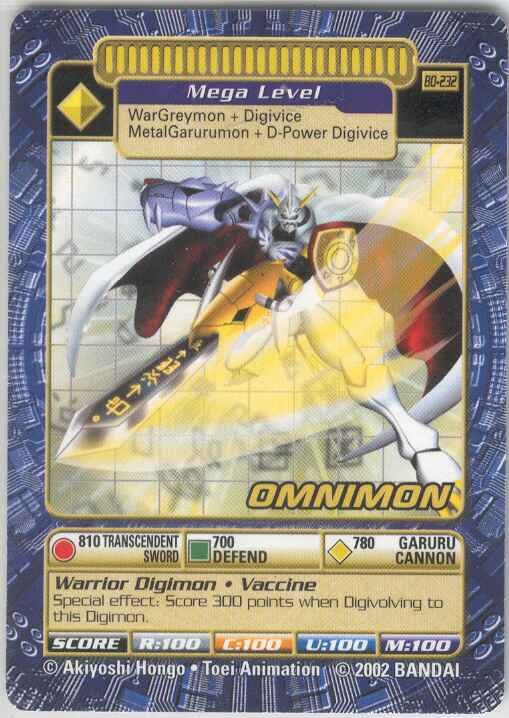 Card:Omnimon - Digimon Wiki: Go on an adventure to tame ... | 509 x 718 jpeg 49kB
