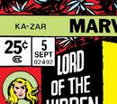Ka-Zar Vol 2 5/Images
