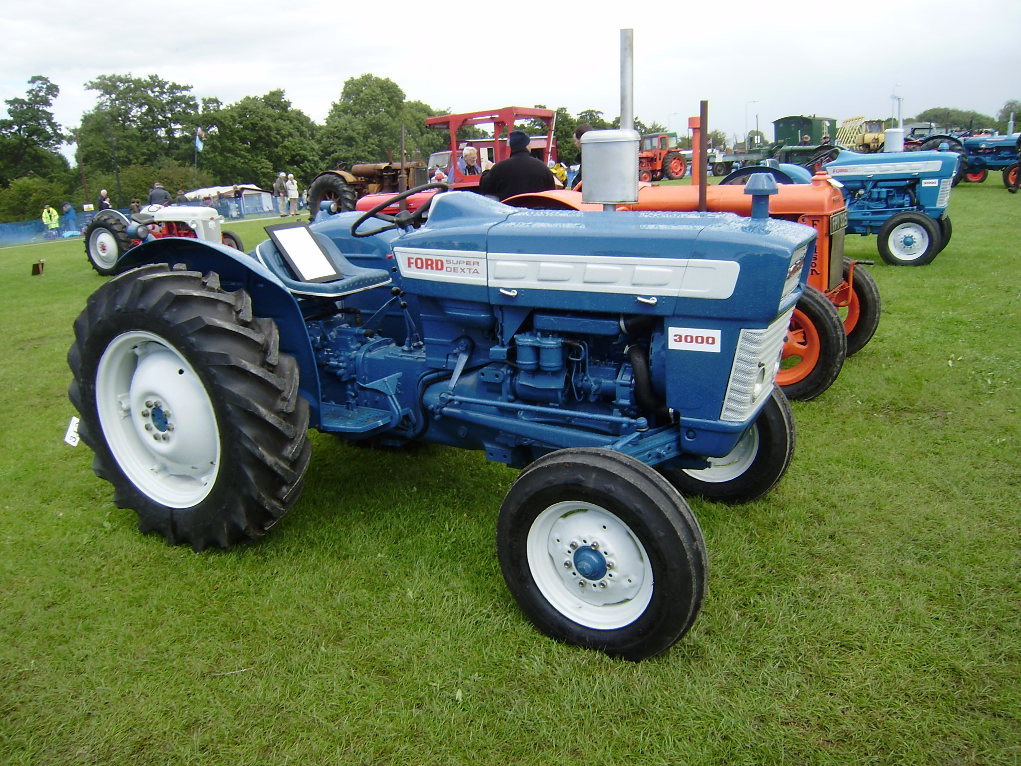 1964 Ford 3000 Tractor : Ford tractors tractor construction plant wiki the