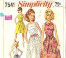 Simplicity 7541