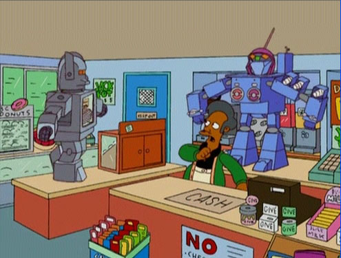 Hot Dog Oven Bot - Simpsons Wiki
