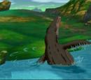 Swimming Sharptooth (Journey to Big Water)