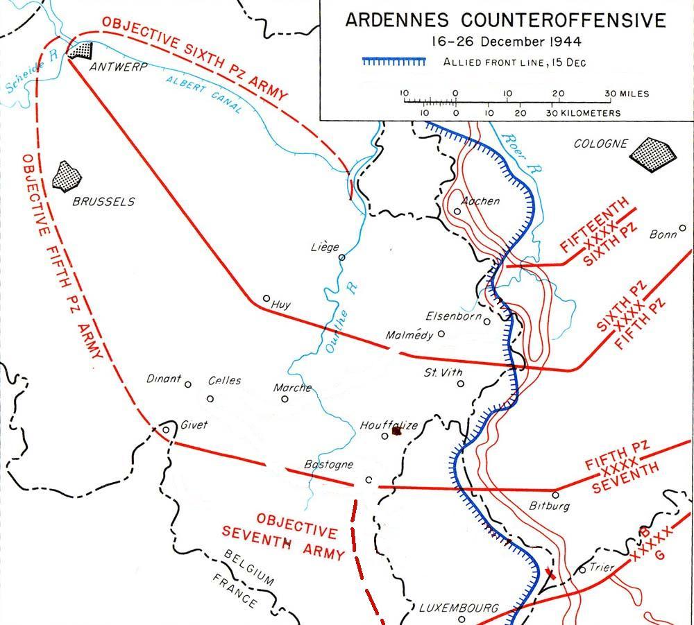 History Battle of The Bulge Battle of The Bulge Progress