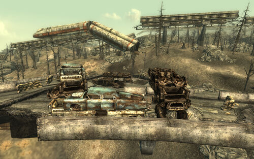 fallout new vegas how to get to the fort