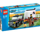 7635 4WD with Horse Trailer