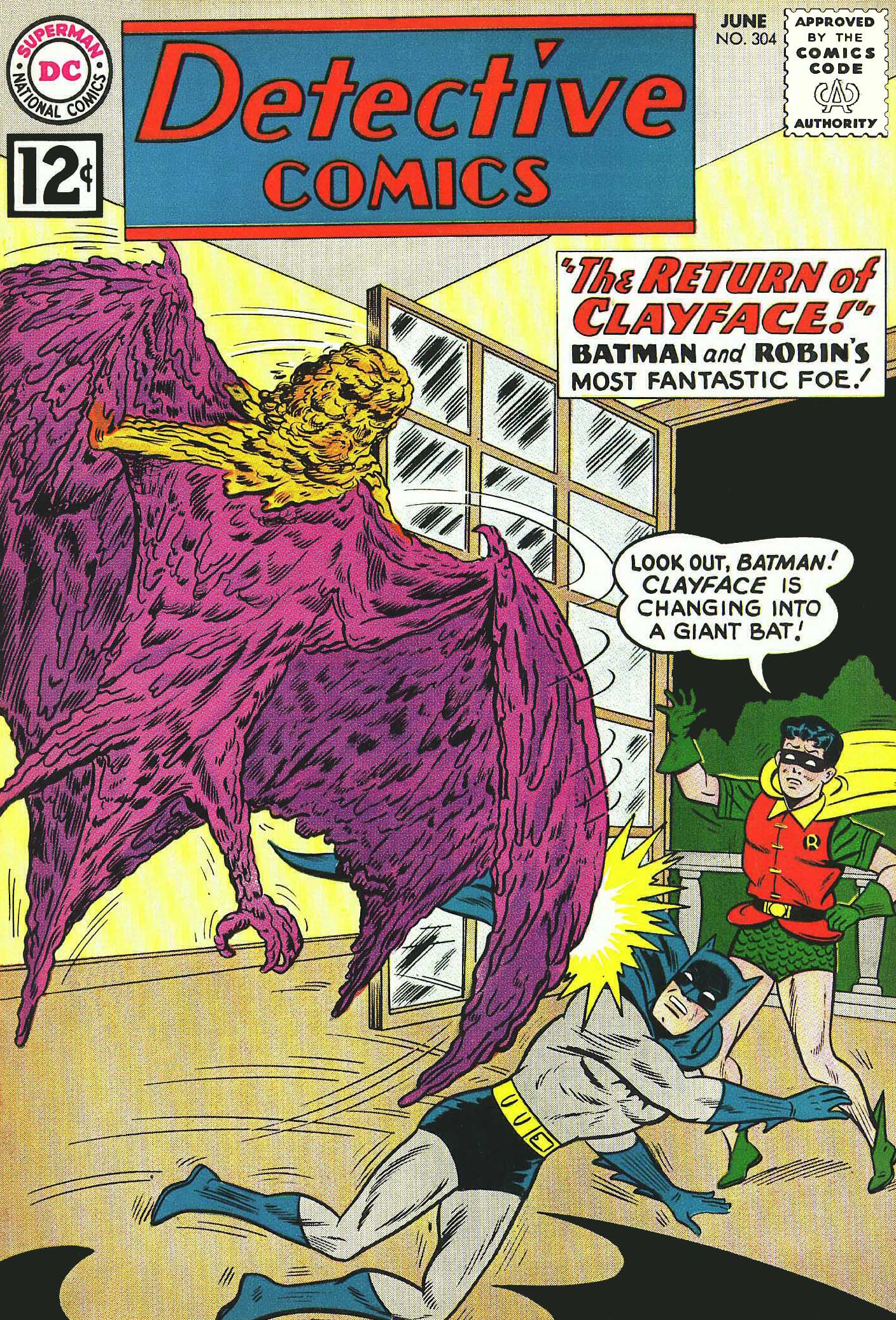 Cover for detective comics 304 1962