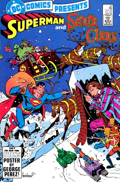 Portadas Navideñas DC_Comics_Presents_67