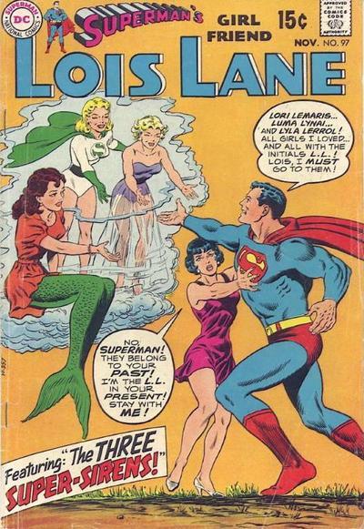 Superman S Girlfriend Lois Lane Vol 1 97 Dc Comics Database