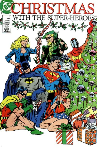 Portadas Navideñas Christmas_with_the_Super-Heroes_1