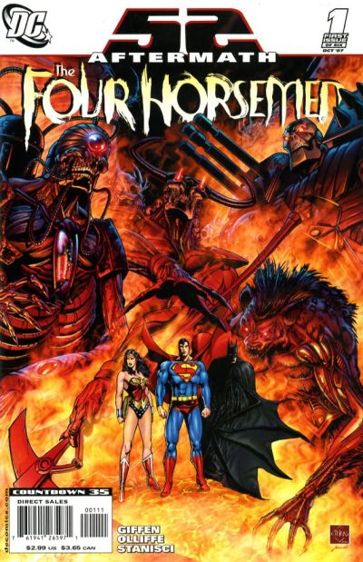 52 aftermath the four horsemen vol 1 dc database wikia