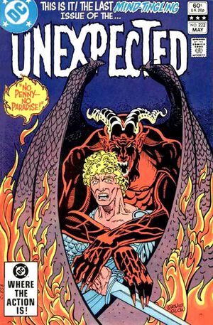 Cover for Unexpected #222 (1982)