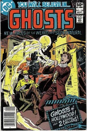 Cover for Ghosts #104 (1981)
