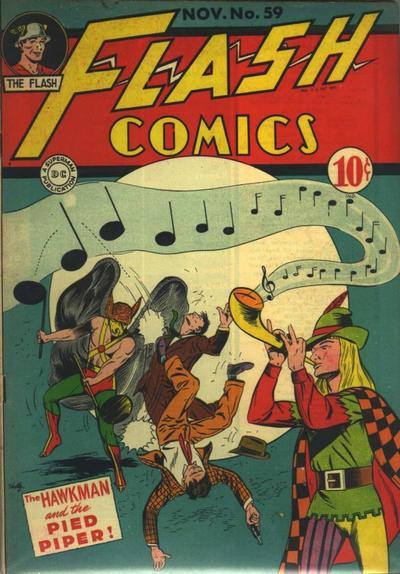 Pie Comic Pied Piper · Flash Comics 59