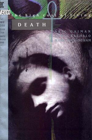 La cobertura de la Muerte: El Alto Costo de la Vida # 1 (1993)