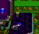 Sonic Spinball stages