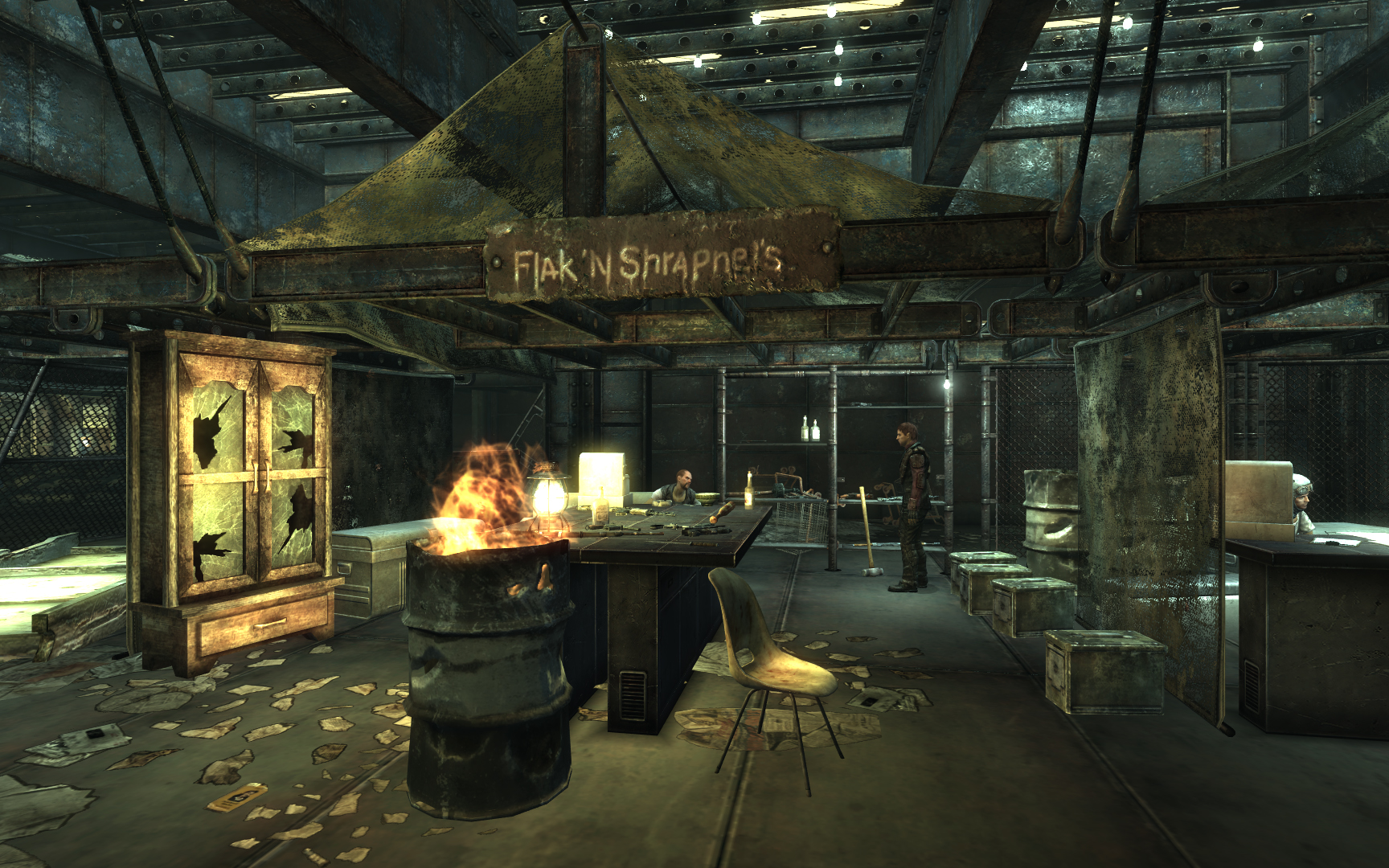Flak 39 n shrapnel 39 s the fallout wiki fallout new vegas for Entrance to rivet city