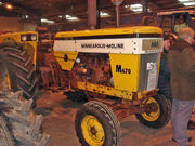 Minneapolis-Moline M670 Super HDV 463D at Bath - DSC01682 edited