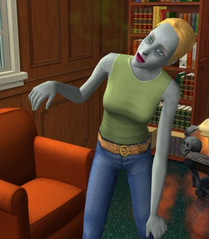 sims 2 how to become a zombie