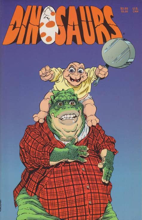 Dinosaurs Comic Book Muppet Wiki