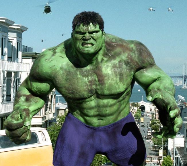 Hulk XXX la parodie porno