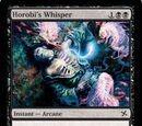 Horobi's Whisper