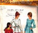 Simplicity 5405