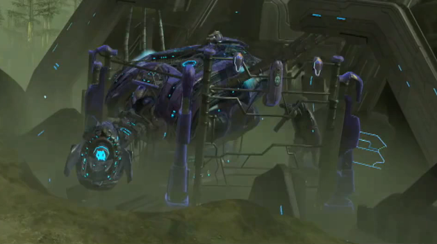 The Super Scarab as seen in Halo Wars  Halo 2 Scarab
