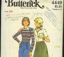 Butterick 4449