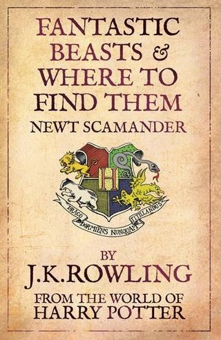 Harry potter fantastic beasts and where to find them book