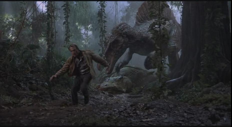 The Spinosaurus after it killed the Tyrannosaurus rex  Jurassic Park Toys Spinosaurus Vs Trex
