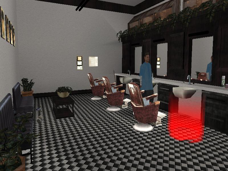Barber Shop La Quinta : El interior de la barber?a