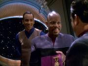 Sisko bekommt Orden