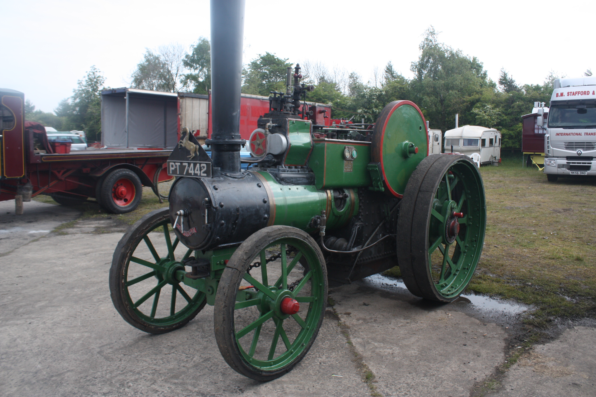 Aveling porter no 11451 tractor construction plant wiki the classic vehicle and - Porter international wiki ...