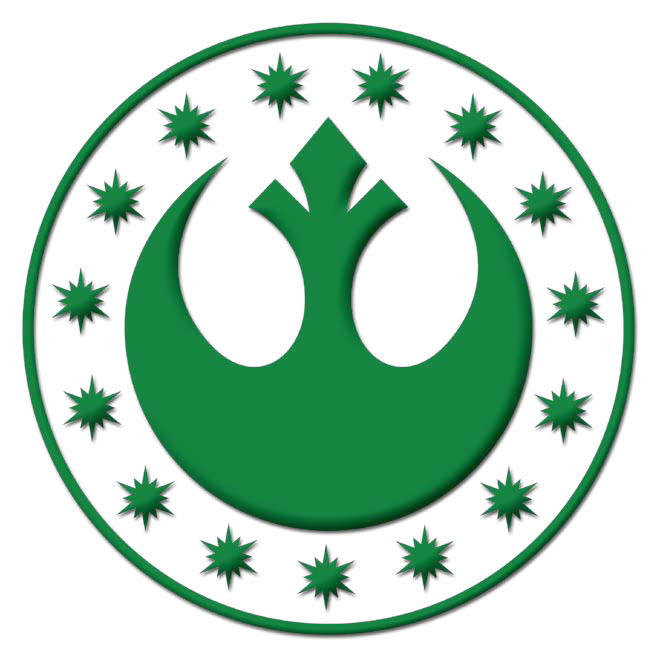 New republic army wookieepedia the star wars wiki - Republic star wars logo ...