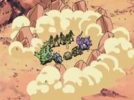 EP541 Tumba rocas ejecutándose